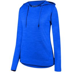 2907 Augusta Ladies Shadow Tonal Heather Hoodie Thumbnail